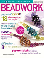 Beadwork magazine Aug-Sep 2010