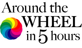 Around the Wheel logo