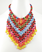 FEstival of Fringe Necklace