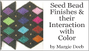 Seed Bead Finishes and Color